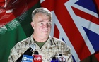 US Marine Corps General Kenneth McKenzie, commander of US Central Command, speaks during a news conference, in Kabul, Afghanistan July 25, 2021. REUTERS