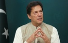 FILE PHOTO: Pakistan's Prime Minister Imran Khan speaks during an interview with Reuters in Islamabad, Pakistan June 4, 2021. REUTERS/Saiyna Bashir/File Photo