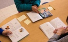 Third graders practice reading at an elementary school in Salem, Mass, March 29, 2021. The New York Times