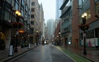 A nearly empty street in downtown Boston on June 25, 2021. The New York Times