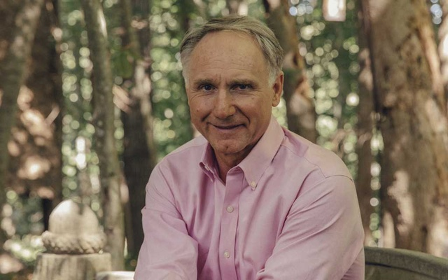 The Author Dan Brown at his home in Rye Beach, NH, Aug 28, 2020. The New York Times