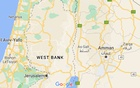 The map of the West Bank is shown in Google Maps. Screenshot taken on July 29, 2021