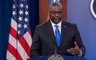 US Defence Secretary Lloyd Austin answers reporters questions at the Pentagon as the US military nears the formal end of its mission in Afghanistan in Arlington, Virginia, US July 21, 2021. REUTERS