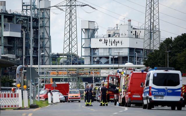 Three more people were found dead after Tuesday's explosion at an industrial park in western Germany, bringing the death toll from the blast to five, police and prosecutors said on Thursday.