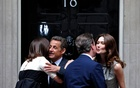 In 2010, Prime Minister David Cameron of Britain and his wife, Samantha Cameron, greeted President Nicolas Sarkozy of France and his wife, Carla Bruni-Sarkozy, with a bise in London. The New York Times