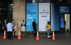 People wait in line at a coronavirus disease (COVID-19) testing clinic in the city centre after new cases were reported in Sydney, Australia, May 6, 2021. Reuters