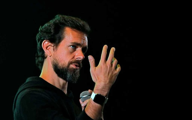 Twitter CEO Jack Dorsey addresses students during a town hall at the Indian Institute of Technology (IIT) in New Delhi, India, on November 12, 2018. REUTERS