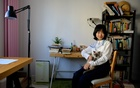 FILE — Zhou Xiaoxuan at her home in Beijing on Oct 17, 2018. Her #MeToo accusations against Zhu Jun, a prominent television personality at CCTV, the state broadcaster, remain unresolved. (Iris Zhao/The New York Times)