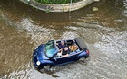 Streets in Richmond, a neighborhood of London, in May, when the Thames River breached its banks. Reuters