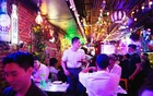 Patrons and workers at Itaewon Pocha, in the Koreatown neighbourhood of Manhattan, on June 24, 2021.The New York Times