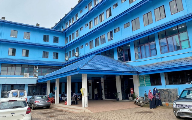 A general view of the Government Medical College Hospital in Manjeri, in the Malappuram district of the southern state of Kerala, India. Aug 18, 2021.REUTERS/Krishna N Das