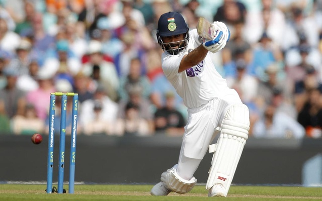 Cricket - Fourth Test - England v India - The Oval, London, Britain - September 5, 2021 India's Virat Kohli in action Action Images via Reuters/Andrew Couldridge