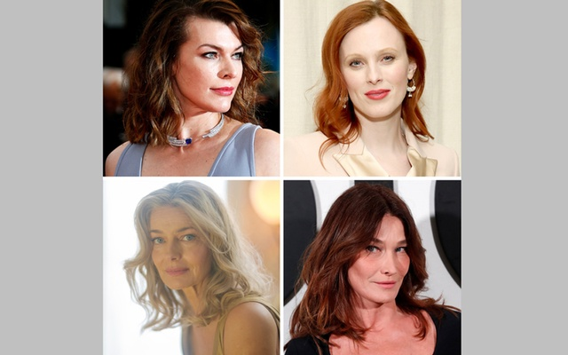 Clockwise from top left: Milla Jovovich, Karen Elson, Carla Bruni-Sarkozy and Paulina Porizkova, who are speaking out in support of the women who have made allegations of rape and sexual misconduct against Gérald Marie. Jean-Paul Pelissier/Reuters (Jovovich); Monica Schipper/Getty Images (Elson); Gonzalo Fuentes/Reuters (Bruni-Sarkozy); Adeline Lulo for The New York Times (Porizkova)