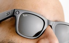 The Ray-Ban Stories, a new line of eyewear by Facebook and Ray-Ban, in San Francisco on Sept 8, 2021. Facebook has teamed up with Ray-Ban to create glasses that can take photos, record video, answer phone calls and play podcasts. (Jason Henry/The New York Times)