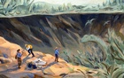 In seeking the origin story of the Chicxulub impactor, scientists hope to also unlock secrets about the origin of life itself. Sally Deng/The New York Times