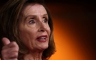 US House Speaker Nancy Pelosi (D-CA) holds her weekly news conference at the US Capitol in Washington, US September 8, 2021. REUTERS/Jonathan Ernst