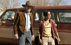 """Good guys: Clint Eastwood and Eduardo Minett in """"Cry Macho."""" Claire Folger/Warner Bros"""