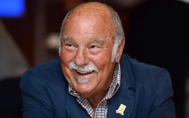Football - Jimmy Greaves at the Royal Mail Football Heroes Stamp Collection Launch - Wembley Stadium - May 8, 2013 Former footballer Jimmy Greaves during the launch Action Images via Reuters/Tony O'Brien/File Photo