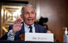 Top infectious disease expert Dr Anthony Fauci responds to accusations by Sen Rand Paul (R-KY) as he testifies before the Senate Health, Education, Labor, and Pensions Committee on Capitol hill in Washington, DC, US, July 20, 2021. J Scott Applewhite/Pool via REUTERS