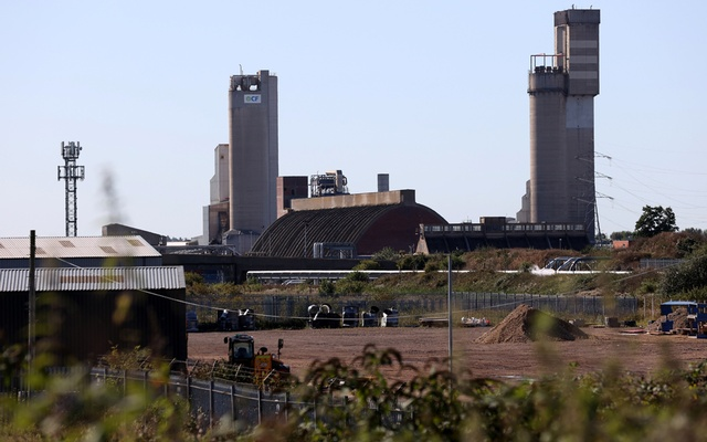 A general view of the CF industries plant in Billingham, Britain September 20, 2021. REUTERS