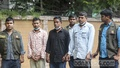 Police bring three people to the Detective Branch office of Dhaka Metropolitan Police on Wednesday, Sept 22, 2021 after their arrest on charges of robbing Tk 2.4 million from an ATM booth of United Commercial Bank in Sylhet's Osmaninagar.