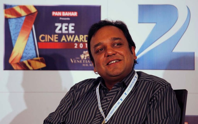 Punit Goenka, CEO and managing director of Zee Entertainment Enterprises, attends a news conference before the Zee Cine Awards in Macau January 21, 2012. REUTERS/Bobby Yip