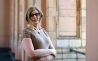 Tessa Ganserer, member of the German Green Party and transgender candidate for the German Bundestag elections poses for a photo during a Reuters TV reportage in the Bavarian Parliament in Munich, Germany, Jul 6, 2021. REUTERS
