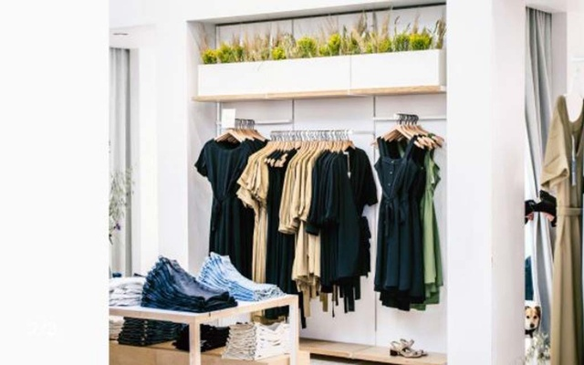 An Everlane retail outlet in San Francisco on May 28, 2019. The apparel company says 40 percent of its wares come from Vietnam. (Justin Kaneps/The New York Times)