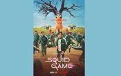 A poster of Netflix series Squid Games. Photo taken from Netflix's Twitter account.