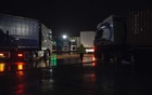 A truck stop on a highway in Grantham, England. Dirty showers, not enough toilets and a lack of security at some roadside stops have made the job less attractive, some drivers said.Credit...Mary Turner for The New York Times