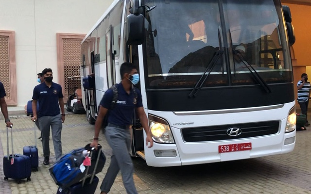 The national cricket team of Bangladesh reaches Oman for the ICC Men's T20 World Cup on Monday Oct 4, 2020.