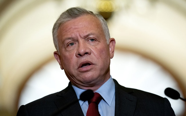 King Abdullah II of Jordan speaks during a news conference at the Capitol in Washington, July 22, 2021. King Abdullah came under scrutiny on Sunday, Oct. 3, 2021, when a report said he was among several world leaders to use secret offshore accounts to hide his wealth. The New York Times