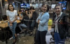 The founders of the Philippine news company Rappler, from left, Glenda Gloria, Lilibeth Frondoso, Chay Hofileña and Maria Ressa in the company's newsroom near Manila, Philippines, July 3, 2018. Rappler, the news site co-founded by the new Nobel laureate Ressa, dares to criticise the Philippine president, Rodrigo Duterte. He may yet see it shut down. The New York Times