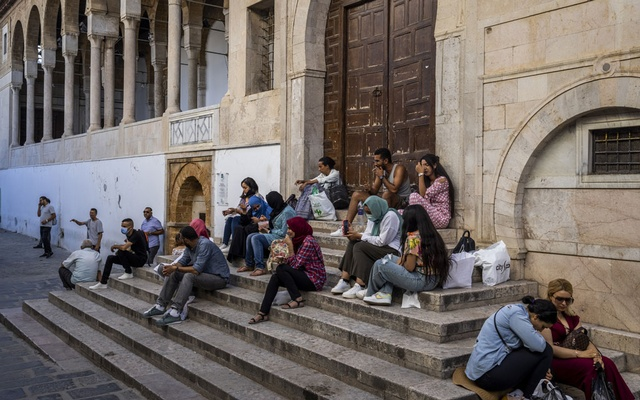 Steps of the Zaytuna mosque in the historic Medina quarter of Tunis, Tunisia, Sept 28, 2021. The New York Times