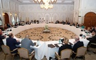 Taliban delegates meet with US and European delegates in Doha, Qatar October 12, 2021. REUTERS
