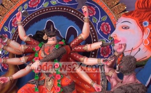 A Durga Puja idol is damaged in an attack on a temple in Gazipur after a social media storm about a temple in Cumilla allegedly besmirching the Quran.