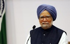 Manmohan Singh smiles during a news conference in New Delhi January 3, 2014. Reuters