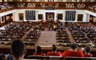 Attendees look on as the Texas House of Representatives convenes a third special legislative session for controversial legislative items at the State Capitol in Austin, Texas, US September 20, 2021. REUTERS