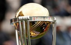 General view of the ICC Cricket World Cup trophy. Reuters.