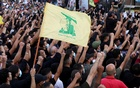 Supporters of Lebanon's Hezbollah attend a funeral of people who were killed in violence in Beirut on Thursday, in Beirut's southern suburbs, Lebanon October 15, 2021. REUTERS/Mohamed Azakir
