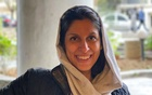 A British-Iranian aid worker, Nazanin Zaghari-Ratcliffe, poses for a photo after she was released from house arrest in Tehran, Iran March 7, 2021. Zaghari family, WANA via REUTERS