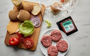 The Impossible Burger, which has 21 ingredients, including soy, according to the company's website, in New York, Aug 30, 2019. Some analysts say they cannot determine if plant-based foods are more sustainable than meat because the companies are not transparent about their emissions. Food styled by Simon Andrews. Con Poulos/The New York Times