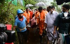 Rescue workers in Kavaly, Kootickal in Kerala. The Indian Express