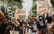 Protesters rally against police misconduct march in New York on June 6, 2020. The New York Times