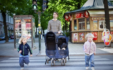 Carlos Rojas, who was part of a group campaigning for more men to take paternal leave, in Stockholm, Sweden, Jun 2, 2010. In 2015, Sweden added a third month of paid leave for fathers, in part to increase gender equality. Casper Hedberg/The New York Times