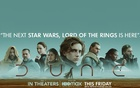 """A poster of the Sci-fi adventure movie """"Dune."""" Picture taken from the Twitter account created to promote the film."""