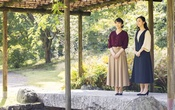 Japan's Princess Mako (L), the daughter of Crown Prince Akishino and Crown Princess Kiko, strolls with her younger sister Princess Kako at the garden of their Akasaka imperial property residence in Tokyo, Japan Oct 6, 2021, ahead of her 30th birthday on Oct 23, 2021 and her marriage on Oct 26, 2021, in this handout photo provided by the Imperial Household Agency of Japan. Mandatory credit Imperial Household Agency of Japan/Handout via REUTERS