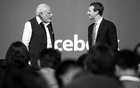 Indian Prime Minister Narendra Modi takes questions at a town hall event moderated by Mark Zuckerberg, the chief executive of Facebook, at the company's headquarters in Menlo Park, Calif, Sept 27, 2015. Internal documents show a struggle with misinformation, hate speech and celebrations of violence in the country, the company's biggest market. Max Whittaker/The New York Times