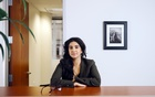 Akshita Singh, who joined Dickinson Wright in Chicago over the summer, at the law firm's offices on Sept. 23, 2021. The generational divide on returning to the office is not neatly drawn. David Kasnic/The New York Times