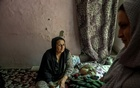 Tahera Noori with her daughter and grandchild at their home in Delhi, India, Oct 9, 2021. Atul Loke/The New York Times